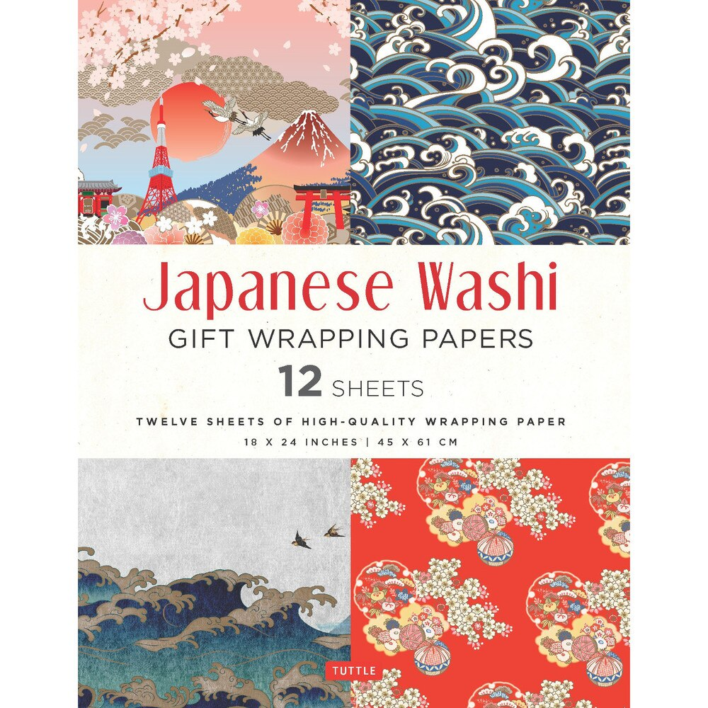 Japanese Washi Gift Wrapping Papers
