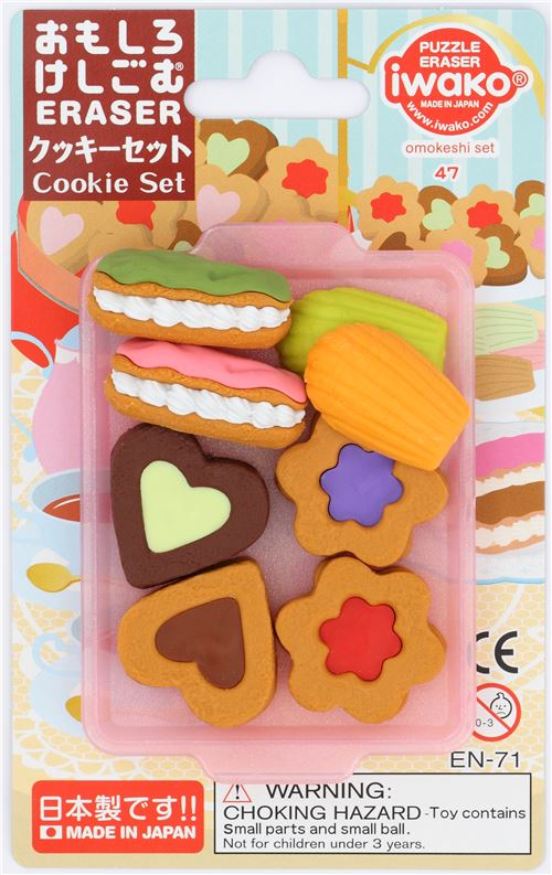 Cookies Eraser Set