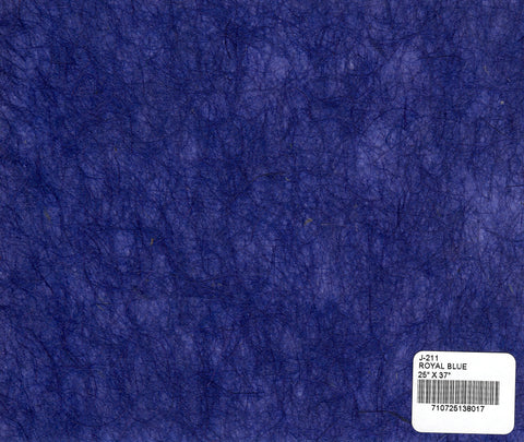 Jute Fiber Paper - Royal Blue