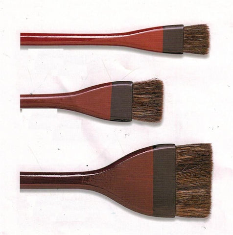 Lacquer Handle Hake Brush
