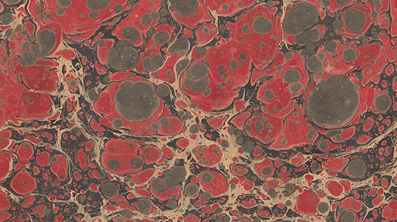 Italian Marble Stone Pattern - Reds, Gray, Black