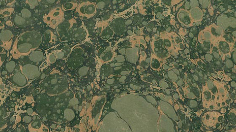 Italian Marble Stone Pattern - Greens, Gold