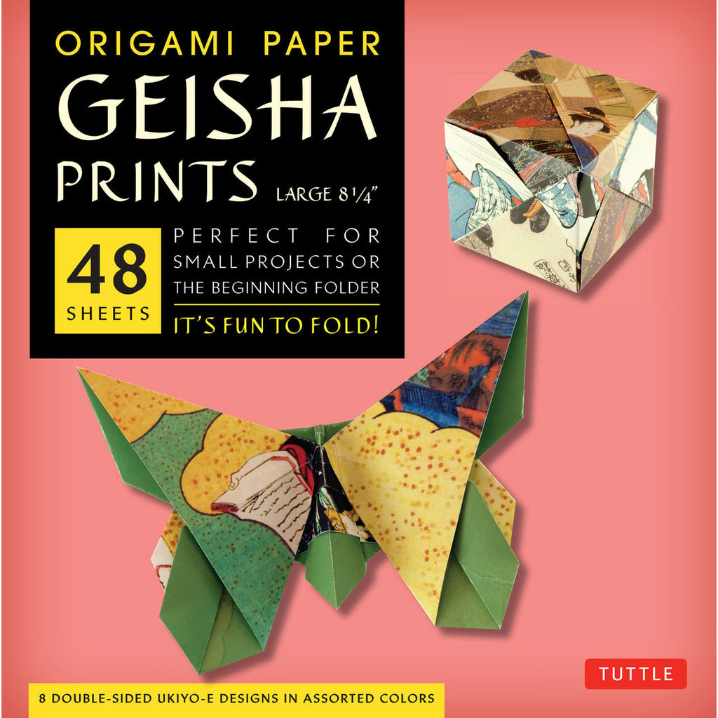 Origami prints tagged styledouble sided page 2 paper geisha print origami paper jeuxipadfo Images