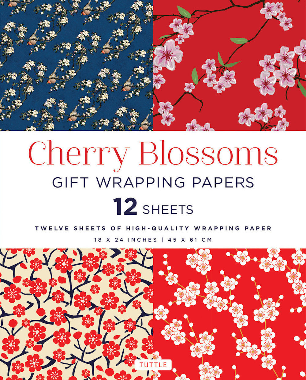 Cherry Blossom Gift Wrapping Paper