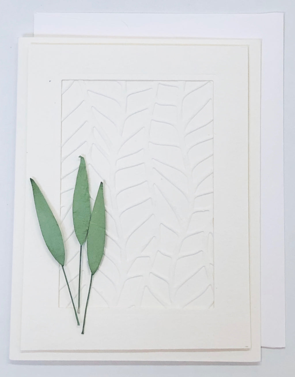 Bamboo Leaves Card