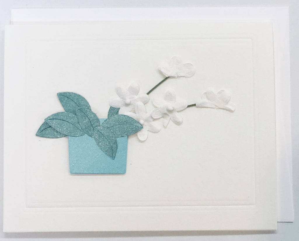 Deborah in Aqua Card
