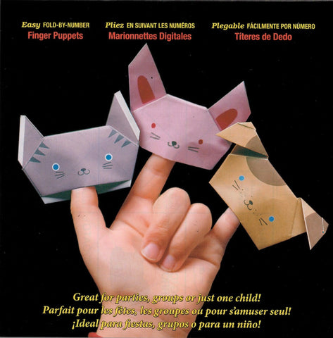 Fold by Numbers - Finger Puppets