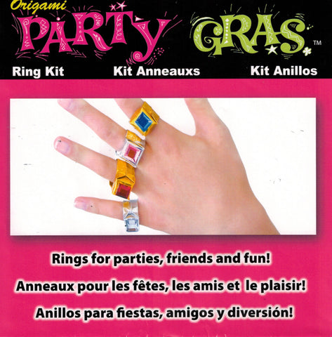 Party Gras Origami Ring Kit