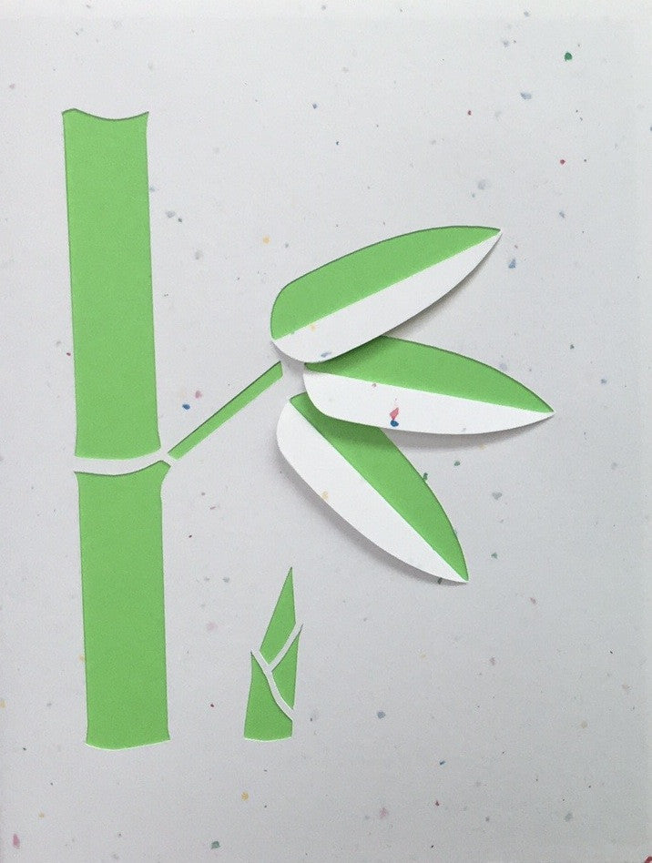 Bamboo Stalk Card