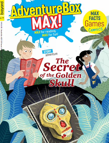 BOOKFAIR - AdventureBox MAX! Ages 9 to 13