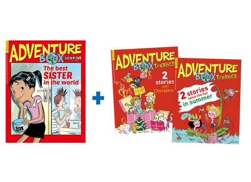 AdventureBox + 2 Special Issues (Original)