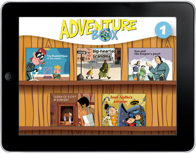 AdventureBox: Five Amazing Stories Pack #1