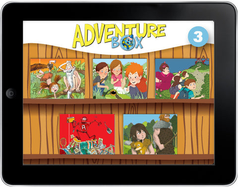 AdventureBox: Five-Amazing-Stories Pack #3