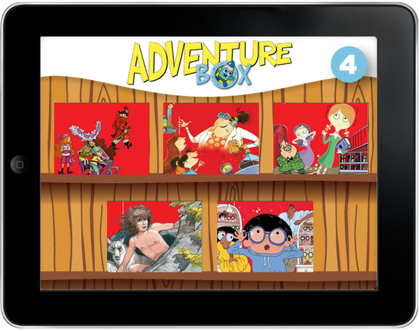 AdventureBox: Five-Amazing-Stories Pack #4