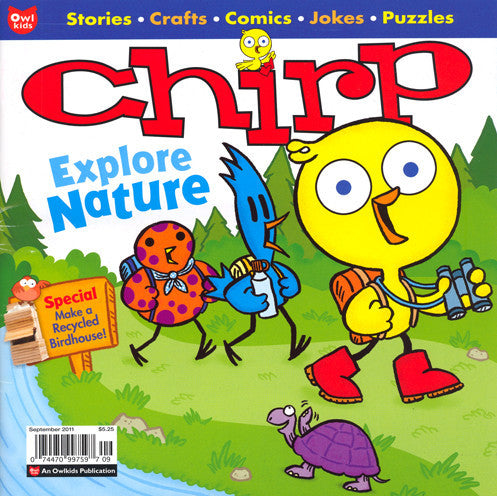 Chirp Magazine: ages 3-6 - Owlkids - Reading for kids and literacy resources for parents made fun. Magazines helping kids to learn. - 8