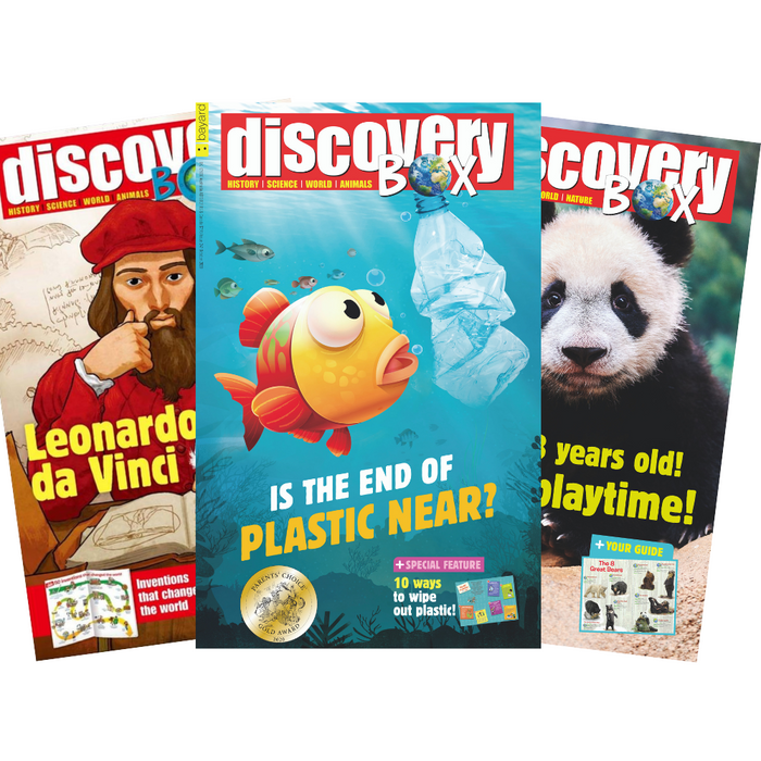 DiscoveryBox: Ages 7-14 (10 issues)