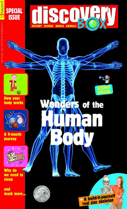 DiscoveryBox Special Edition: Wonders of the Human Body <br>( Single Issue )