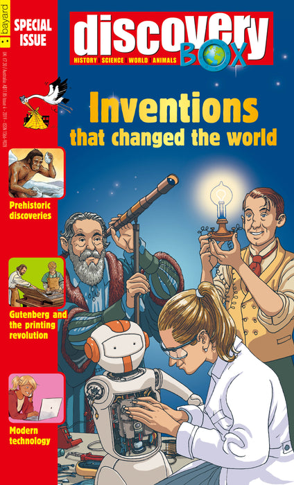 DiscoveryBox Special Edition: Inventions that changed the world ( Single Issue )