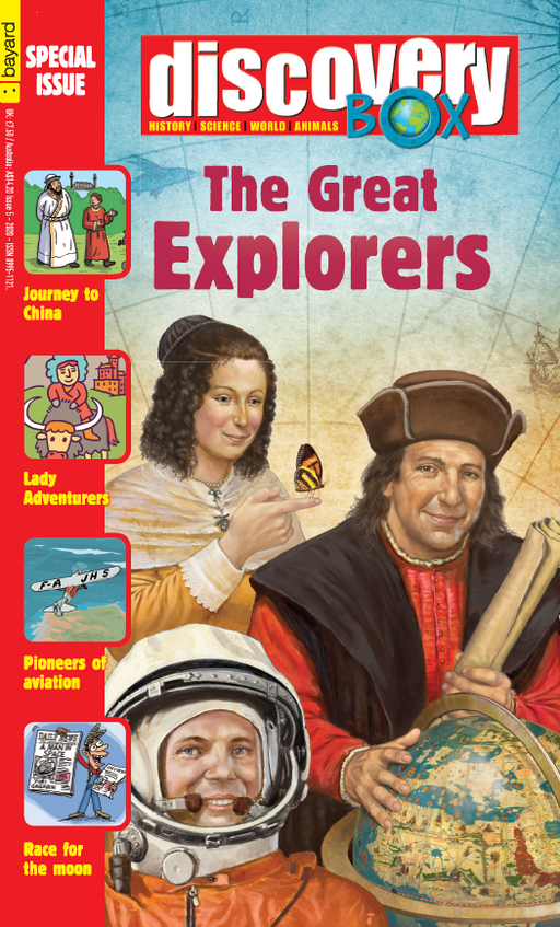 BOOKFAIR - Discovery Box Special Edition: The Great Explorers