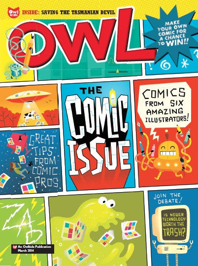OWL Magazine: ages 9-13 - Owlkids - Reading for kids and literacy resources for parents made fun. Magazines helping kids to learn. - 3