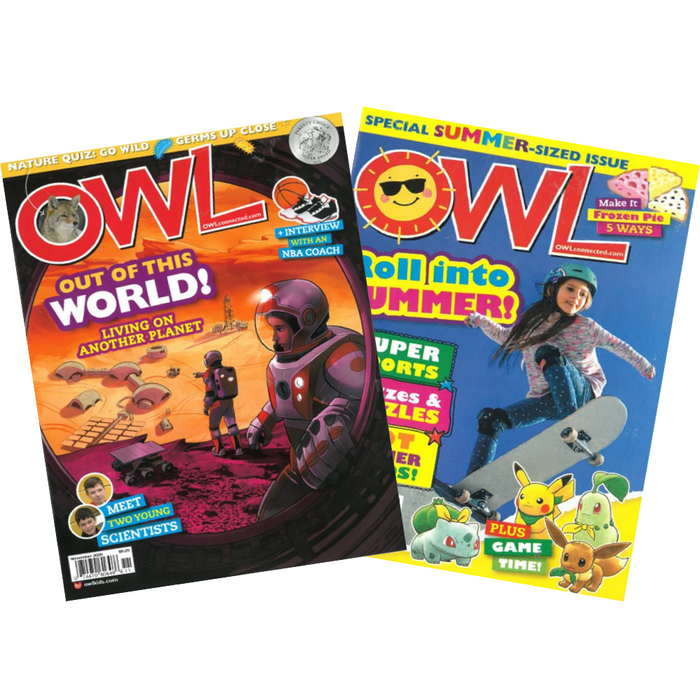 OWL: Ages 9-13 (10 issues)