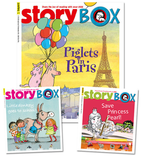 StoryBox Magazine: ages 3-6 - Owlkids - Reading for kids and literacy resources for parents made fun. Magazines-MSG helping kids to learn.
