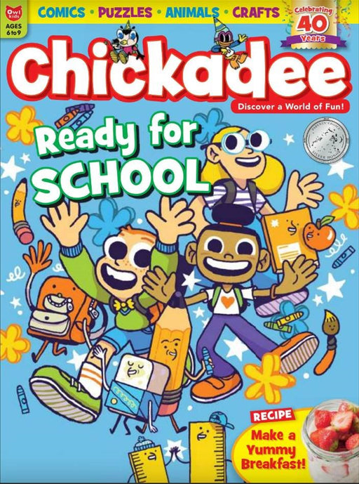 BOOKFAIR - ChickaDEE: Ages 6-9