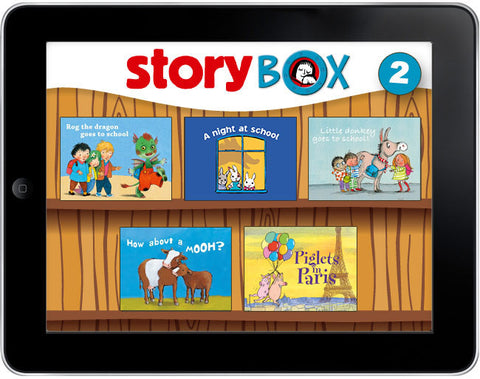 StoryBox: Five Bedtime Stories Pack #2 - Owlkids - Reading for kids and literacy resources for parents made fun. Books_Digital helping kids to learn. - 1
