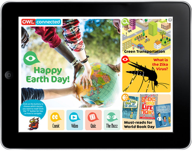 OWLconnected: the eMag for pre-teens