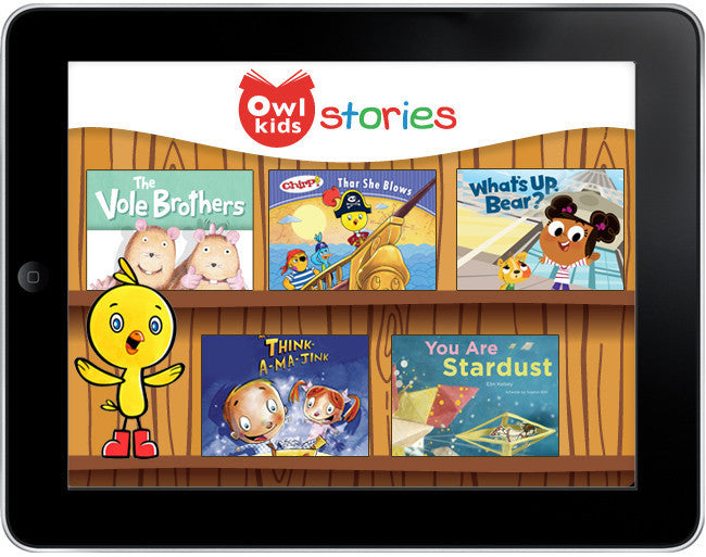 Owlkids Stories: Chirp and Friends *Cyber Monday Special Offer* - Owlkids - Reading for kids and literacy resources for parents made fun. Books_Digital helping kids to learn.