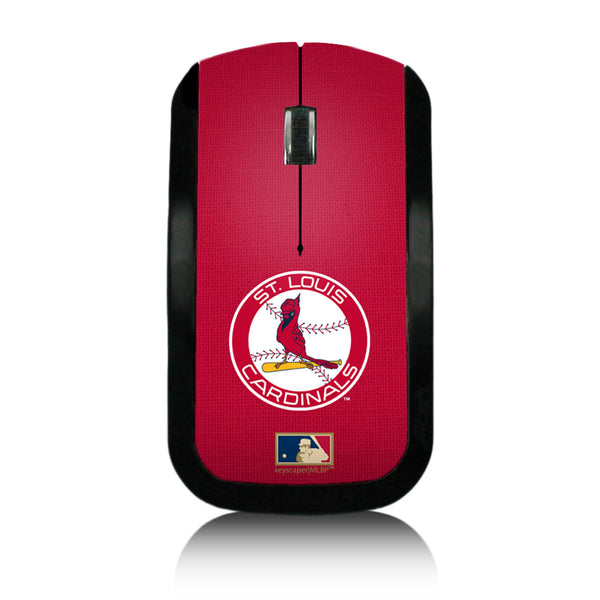 St louis Cardinals 1966-1997 - Cooperstown Collection Solid Wireless USB Mouse