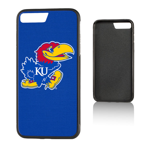 Kansas Jayhawks Solid Bump iPhone 7+ / 8+   Case