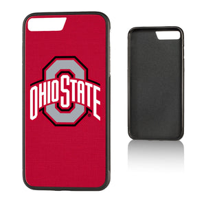 Ohio State Buckeyes Solid Bump iPhone 7+ / 8+   Case