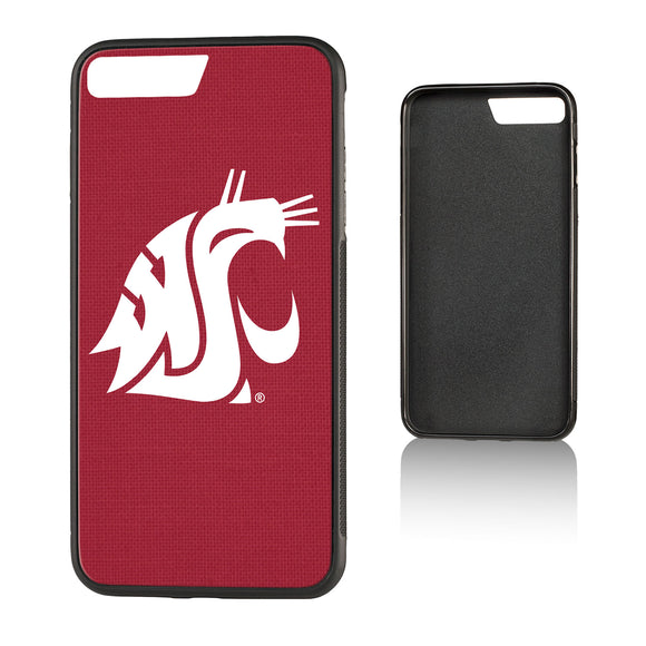 Washington State Cougars Solid Bump iPhone 7+ / 8+ Case
