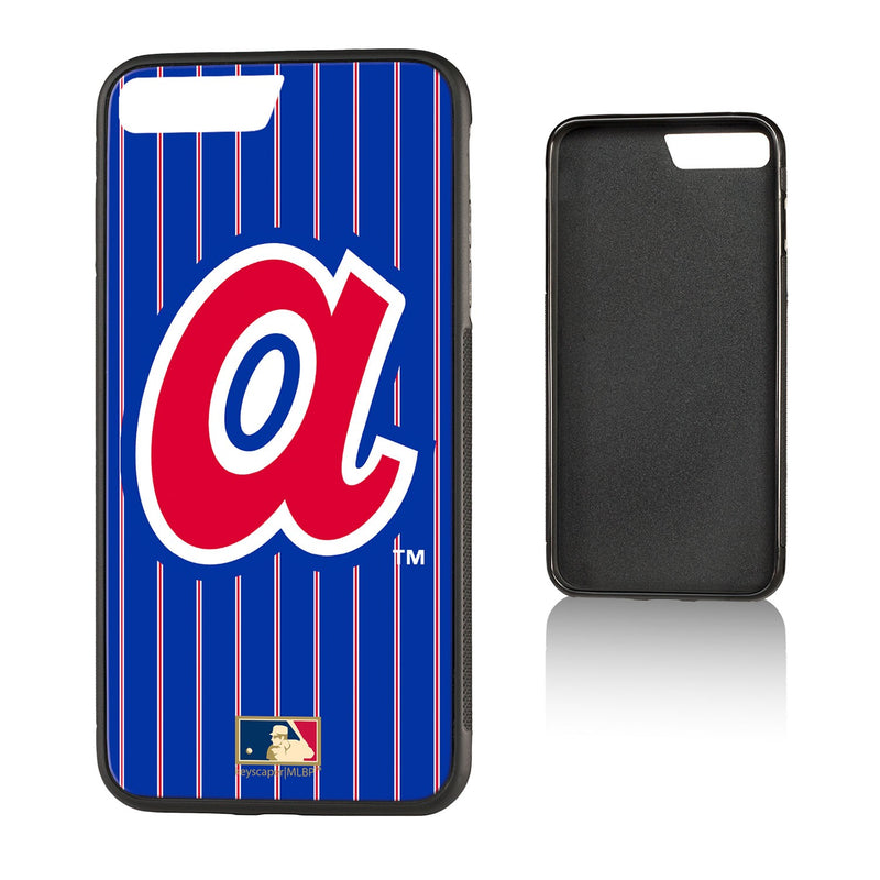 Atlanta Braves 1972-1980 - Cooperstown Collection Pinstripe Bump iPhone 7+ / 8+ Case