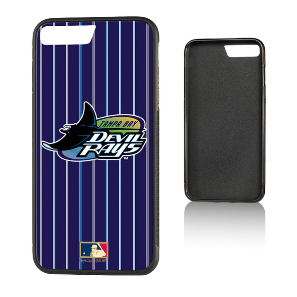Tampa Bay 1998-2000 - Cooperstown Collection Pinstripe Bump iPhone 7+ / 8+ Case