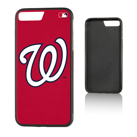 Washington Nationals Nationals Solid Bump iPhone 7+ / 8+ Case