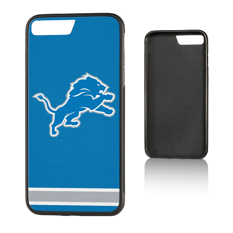 Detroit Lions Stripe Bump iPhone 7+ / 8+ Case