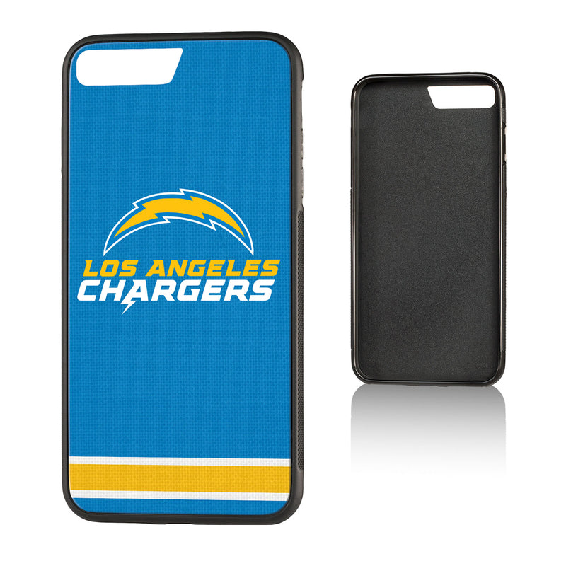 Los Angeles Chargers Stripe Bump iPhone 7+ / 8+ Case