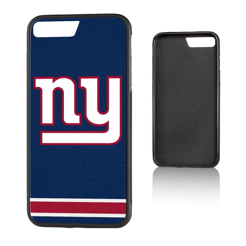 New York NY Giants Stripe Bump iPhone 7+ / 8+ Case