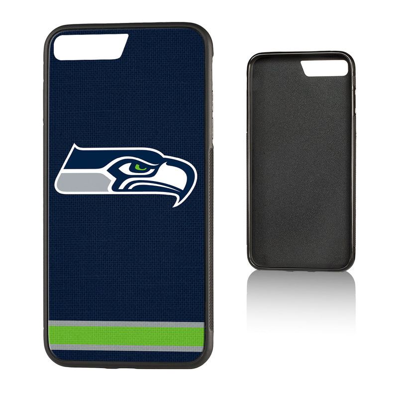 Seattle Seahawks Stripe Bump iPhone 7+ / 8+ Case