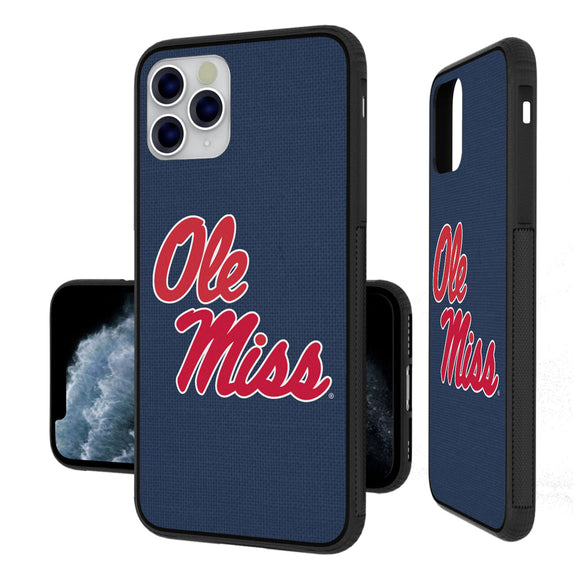 Mississippi Ole Miss Rebels Solid iPhone 11 Pro Max Bumper Case