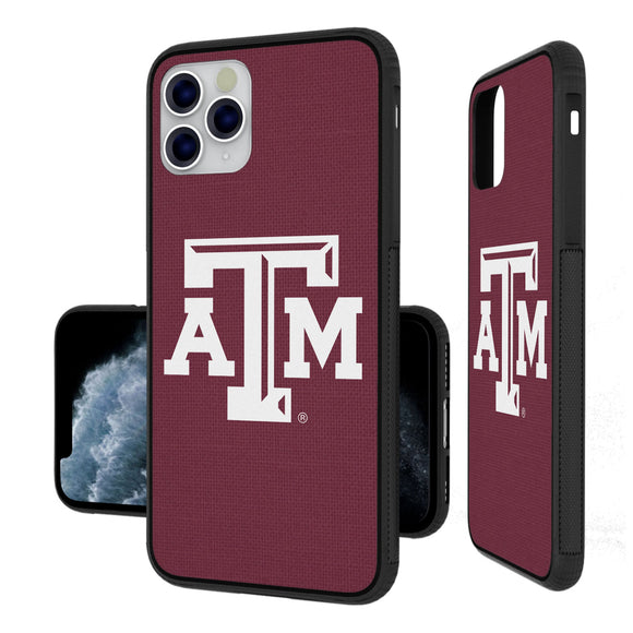 Texas A&M Aggies Solid iPhone 11 Pro Max Bumper Case
