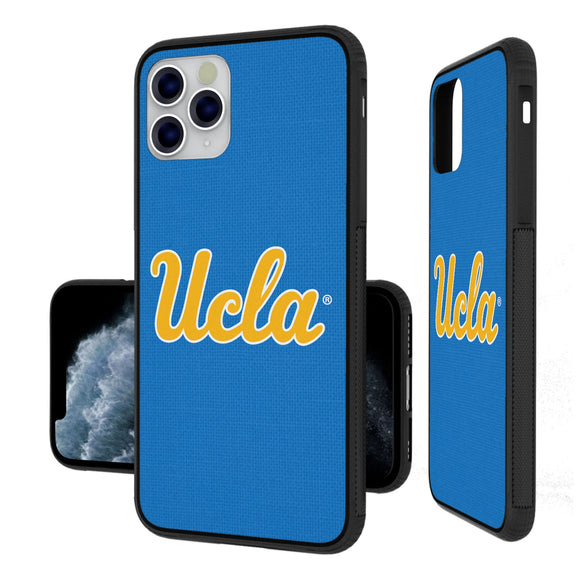 UCLA Bruins Solid iPhone 11 Pro Max Bumper Case