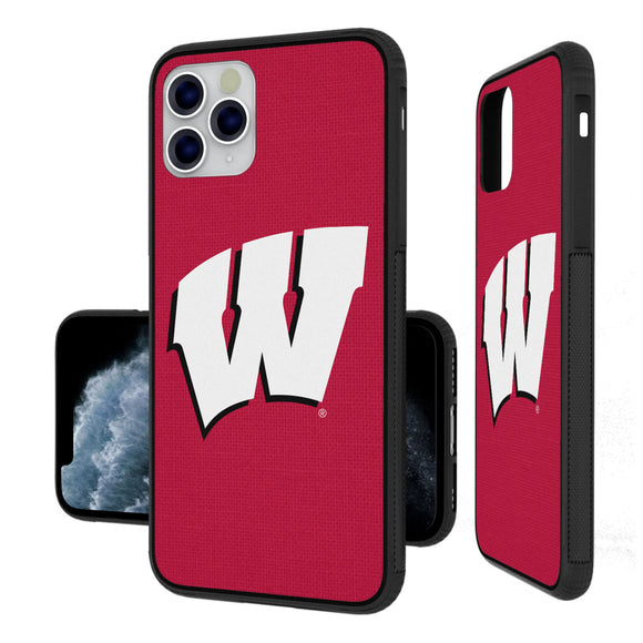 Wisconsin Badgers Solid iPhone 11 Pro Max Bumper Case