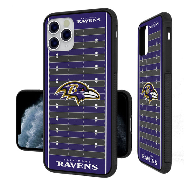 Baltimore Ravens Football Field iPhone 11 Pro Max Bumper Case