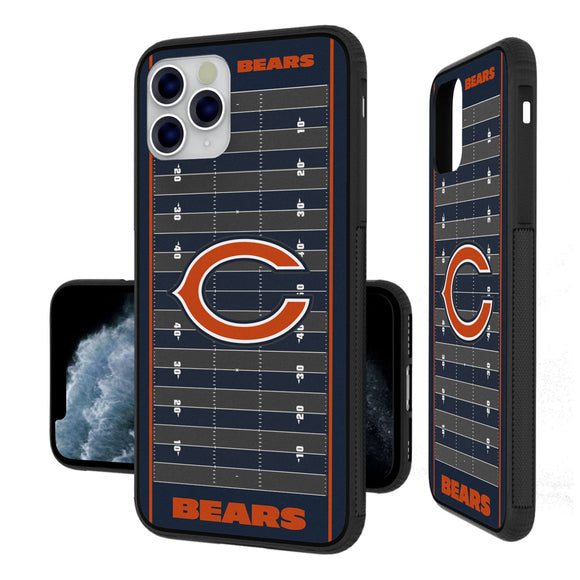 Chicago Bears Football Field iPhone 11 Pro Max Bumper Case