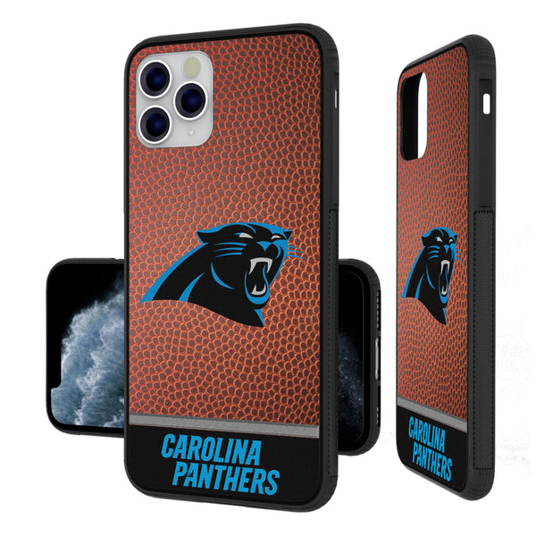 Carolina Panthers Football Wordmark iPhone 11 Pro Max Bumper Case