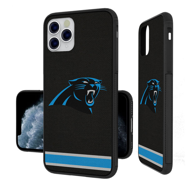 Carolina Panthers Stripe iPhone 11 Pro Max Bumper Case