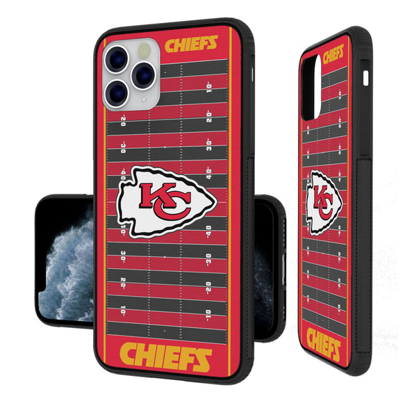 Kansas City Chiefs Football Field iPhone 11 Pro Max Bumper Case